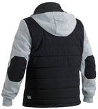 BJ6944 Bisley Flex & Move™ Contrast Puffer Fleece Hoodie