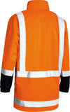 BJ6967T Bisley TTMC-W Taped Hi Vis Rain Shell Jacket
