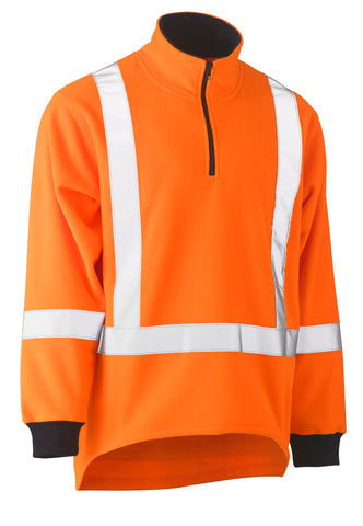 BK6249XT Bisley TTMC-W Taped Hi Vis Fleece Pullover