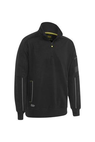 BK6924 Bisley 1/4 Zip Work Fleece Pullover