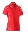 BKL1425 Bisley Womens Cool Mesh Polo Shirt