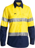 BL6415T Bisley Womens 3M Taped Hi Vis X Airflow™ Ripstop Shirt