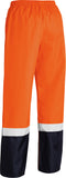 BP6965T Bisley Taped Two Tone Hi Vis Shell Rain Pant