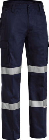 BPC6003T Bisley 3M Double Taped Cotton Drill Cargo Pant - Regular