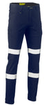 BPC6008T Bisley Taped Biomotion Stretch Cotton Drill Cargo Pants - Regular