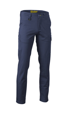 BPC6008 Bisley Stretch Cotton Drill Cargo Pants - Stout