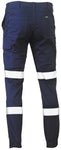 BPC6028T Bisley Taped Bimotion Stretch Cotton Drill Cargo Pants - Regular