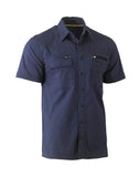 BS1144 Bisley Flex & Move™ Utility Work Shirt - Short Sleeve