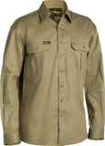 BS6433 Bisley Original Cotton Drill Shirt - Long Sleeve