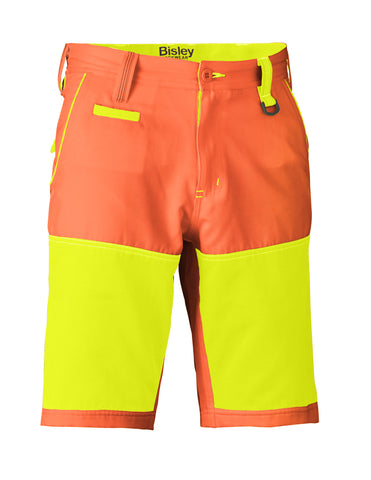 BSH1411 Bisley Double Hi Vis Short