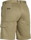 BSHL1999 Bisley Womens Drill Lightweight Utility Short
