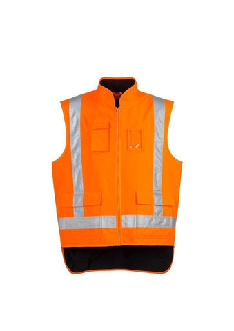 ZJ356 Fleece Lined Hi Vis Vests