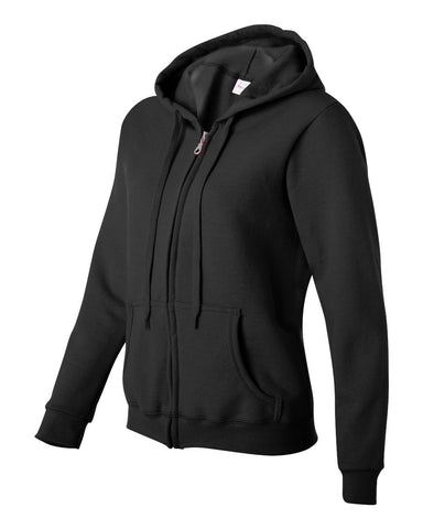 Gildan 18600FL Women's Zip Hoodies