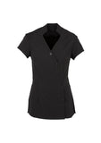 H134LS Zen Ladies Crossover Tunic