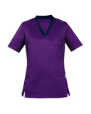 CST043LS BizCollection Womens Riley V-Neck Scrub Top