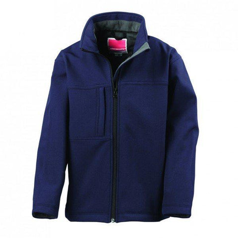 R121B Result Youth Soft Shell Jacket