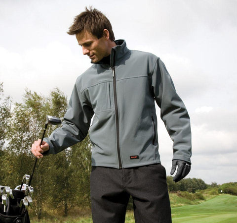 R121M Result Mens Softshell Jackets