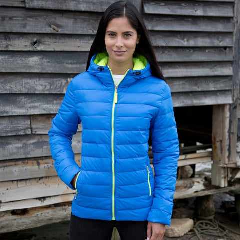 R194F Result Snow Bird Puffer Jacket - Womens