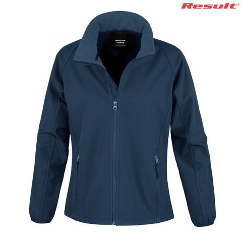 Result Core R231F Womens Printable Softshell Jacket Blank Plain