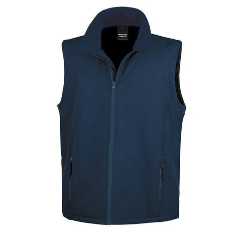 R232M Result Men's Softshell Vest