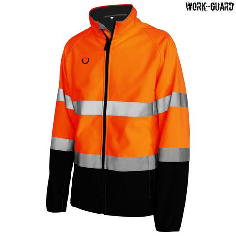 R450X Workguard Hi Visibility Printable Softshell Jacket