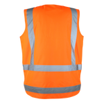 R462X Workgurard Hi Visibility Safety Vest – Day / Night