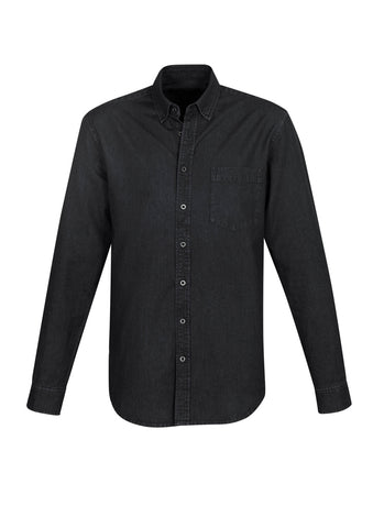 S017ML BizCollection Indie Mens Long Sleeve Shirt