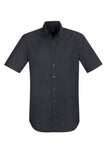 S017MS BizCollection Indie Mens Short Sleeve Shirt