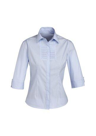 S121LT BizCollection Berlin Ladies ¾ Sleeve Shirt