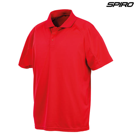 Spiro S288B Youth Impact Performance Aircool Polo
