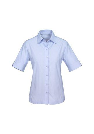 S29522 BizCollection Ambassador Ladies Short Sleeve Shirt