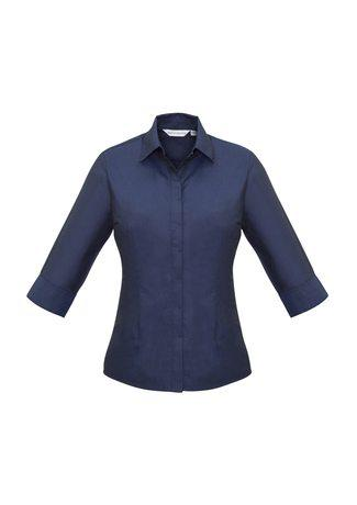 S504LT BizCollection Hemingway Ladies ¾ Sleeve Shirt
