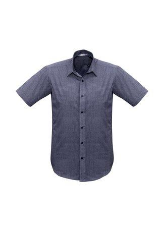 S622MS BizCollection Trend Men's Short Sleeve Shirt