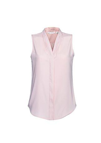 Madison Ladies Sleeveless Blouse