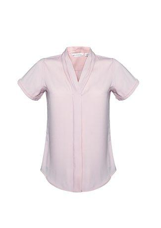 S628LS BizCollection Madison Ladies Short Sleeve Blouse