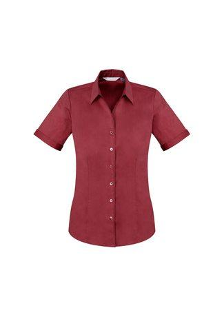 Monaco Ladies Short Sleeve Shirt