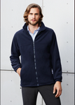 PF630 BizCollection Mens Plain Micro Fleece Jacket