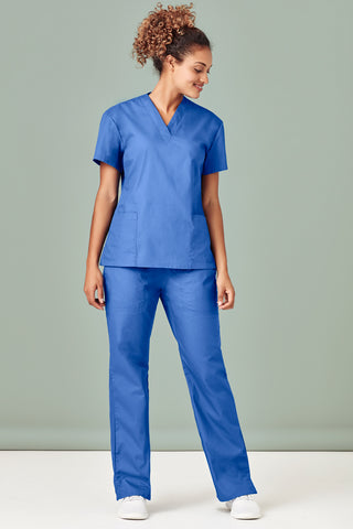 H10622 Classic Ladies Scrubs Tops