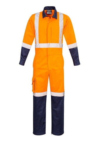 ZC805 Rugged Hi Vis Overalls