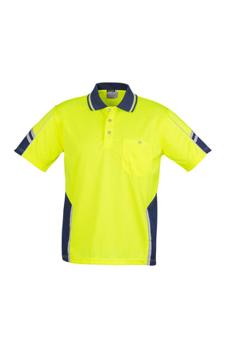 ZH237 Hi Vis Short Sleeve Squad Polo