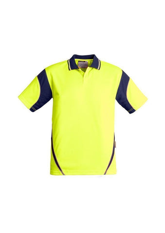 ZH248 Hi Vis Short Sleeve Aztec Polo