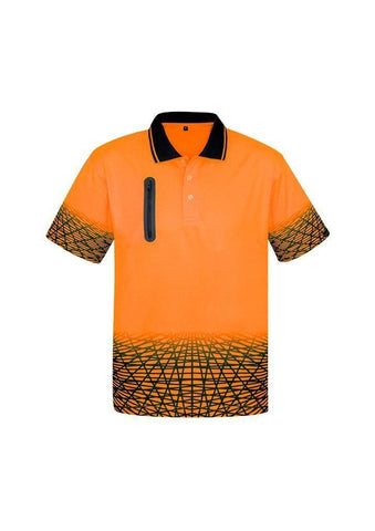ZH300 Syzmik Mens Tracks Polo Shirt
