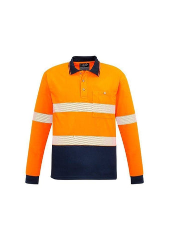 ZH530 Unisex Hi Vis Long Sleeve Polo Shirt