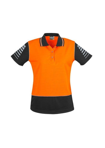 ZHL236 Womens Hi Vis Zone Polo