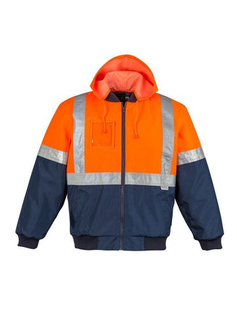 ZJ351 Hi Vis Quilted Flying Jacket