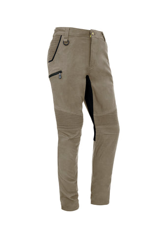 ZP320 Mens Streetworx Stretch Work Pants - Non Cuffed