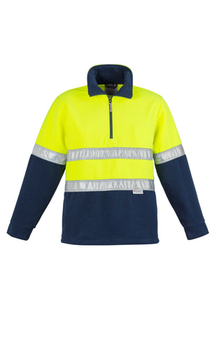 ZT461 Hi Vis Fleece Jumper - Hoop Taped