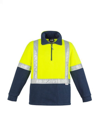 ZT462 Hi Vis Fleece Jumper - Shoulder Taped
