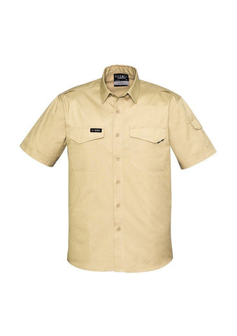 ZW405 Men's Rugged Short Sleeves Cooling Shirt