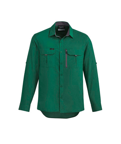 ZW460 Syzmik Mens Super Light Outdoor Long sleeved Work Shirt